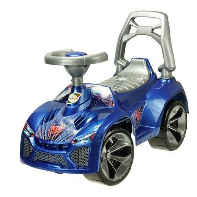 Odrážedlo auto s klaksonem Kenny modré