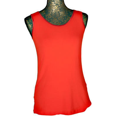 Červené tričko s širokými ramínky Jolana - 1