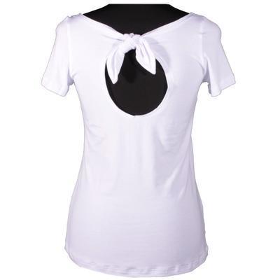 Bílé tričko s krátkým rukávem Celestina - 1