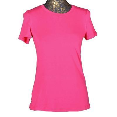 Růžové tričko s krátkým rukávem Paula - 1