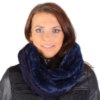 Designový modrý nákrčník Becky G1 - 1