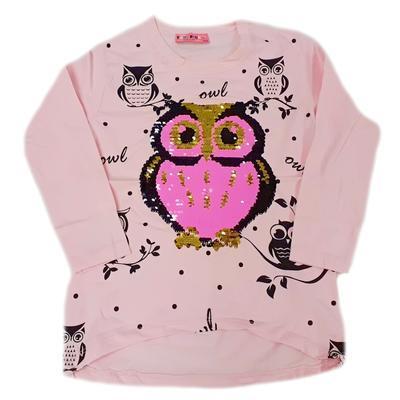 Dětské růžové tričko s měnícím obrázkem Jessi - 1