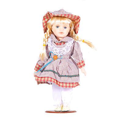 DOLL porcelánová panenka Esther 30cm