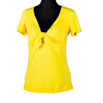 Žluté tričko s krátkým rukávem Daniela - 1