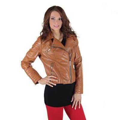 Atraktivní koženková bunda Ramon  - 1