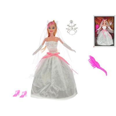 Kloubová panenka nevěsta 29cm Perla