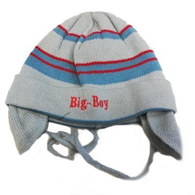 Dětská zimní čepice Tobias modrá