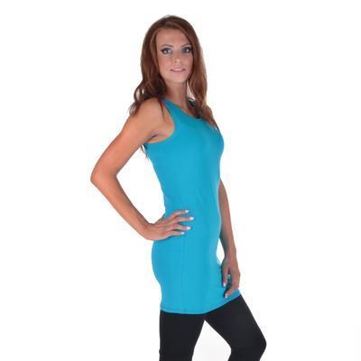 Tmavě modré letní šaty Pandora  - 1