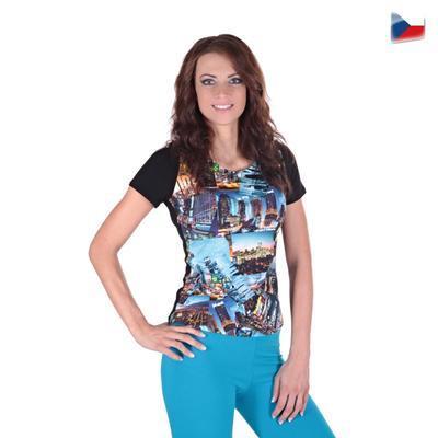 Dívčí tričko Baily s moderním potiskem - 1