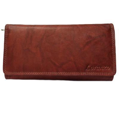 Dámská luxusní peněženka Esther hnědočervená - 1