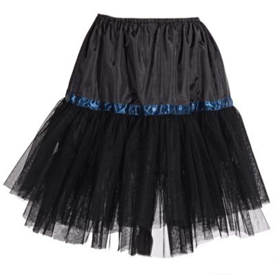 Černá spodnička pod sukně Manky - 1