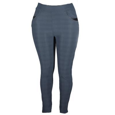 Zimní kalhotové legíny Kessi tmavě šedé - 1