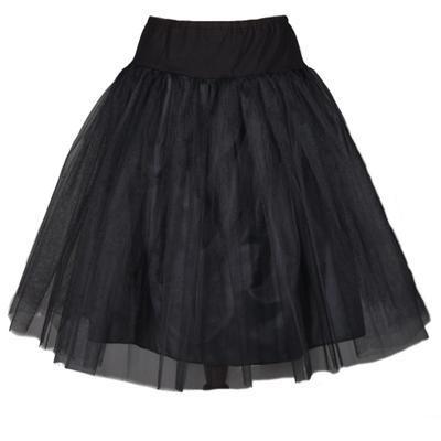 Černá spodnička pod sukně Sofia