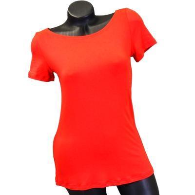 Červené tričko s krátkým rukávem Celestina - 1