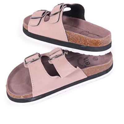 Dámské korkové pantofle Izabela krémové