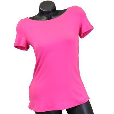 Růžové tričko s krátkým rukávem Celestina - 1