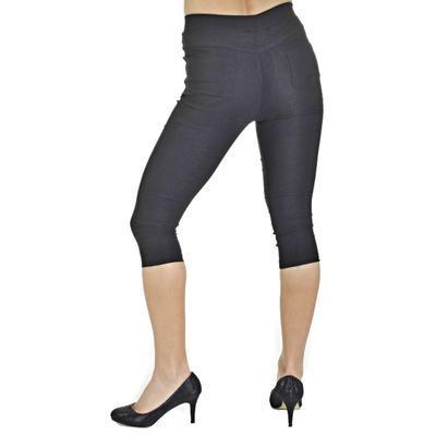 Kalhotové legíny Megan černé - 1