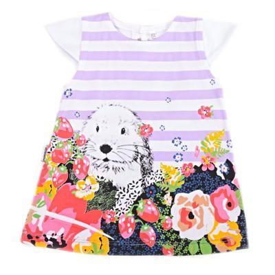 Dívčí letní šatičky Michel fialová