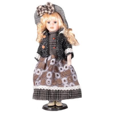DOLL porcelánová panenka Lue 40 cm