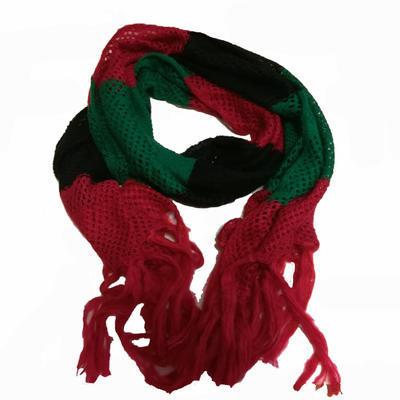 Zimní pletená šála Irina černá