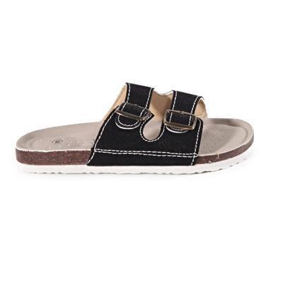 Pánské korkové pantofle Horst černé - 1