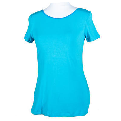 Modré tričko s krátkým rukávem Belita - 1