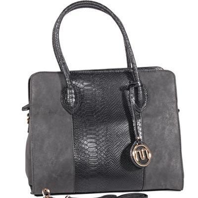 Elegantní černá kabelka Gipy 8A - 1