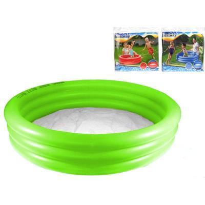 3komorový nafukovací bazén 102x25cm Olivie - 1