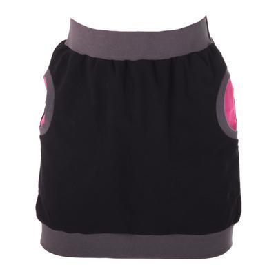Černorůžová bavlněná sukně Rozalie - 1