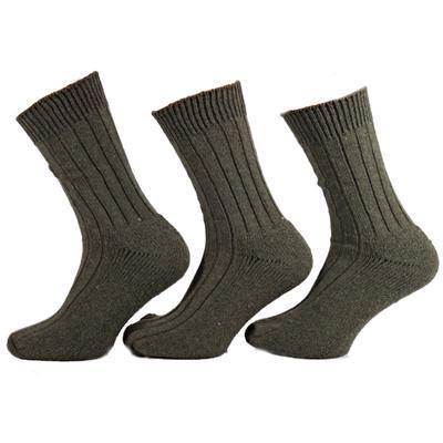 Silné zelené pracovní ponožky H8c