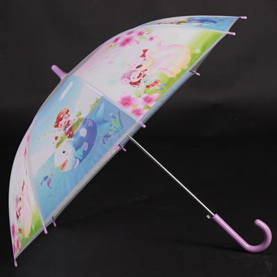 Dětský vystřelovací deštník Tim fialový - 1