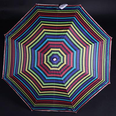 Pruhovaný deštník Dora barevný - 1