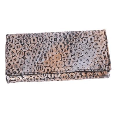 Stylová dámská peněženka Silva zlatá - 1