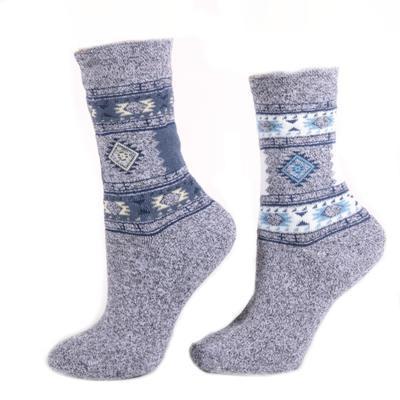 Dámské zimní ponožky D2d bílé