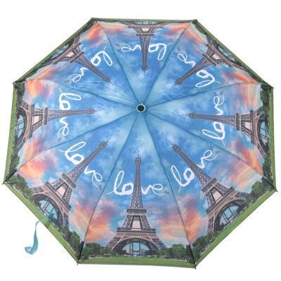 Luxusní skládací deštník Henry motiv Eiffelova věž - 1