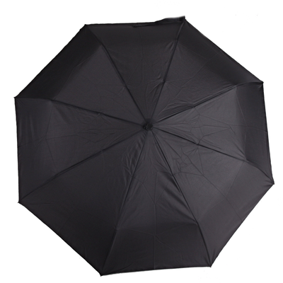 Pánský skládací černý deštník Mateo - 1