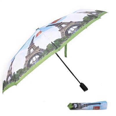 Malý skládací deštník Miles motiv Eiffelova věž - 1