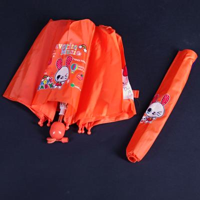 Skládací dětský deštník Samson oranžový - 1