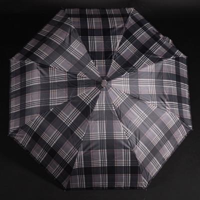 Pánský skládací deštník Alan černý - 1