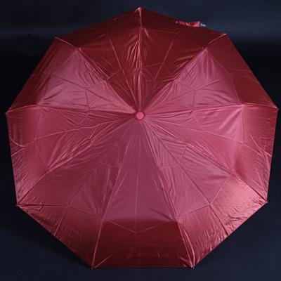 Luxusní dámský skládací deštník Nina červený - 1
