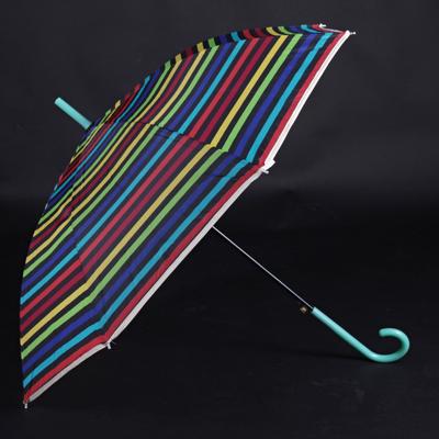 Pruhovaný deštník Dora zelený - 1