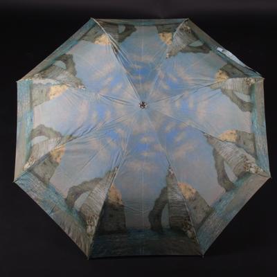 Barevný skládací deštník Abbie - 1
