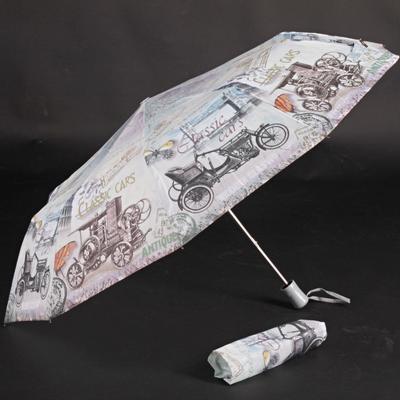 Stylový skládací deštník Cars barevný - 1