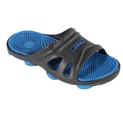 Pánské gumové pantofle Tomas modré - 1