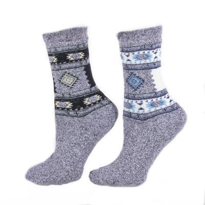 Dámské zimní ponožky D2d černé