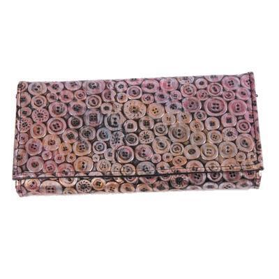 Stylová dámská peněženka Silva růžová - 1