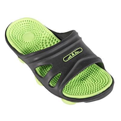 Pánské gumové pantofle Tomas zelené - 1