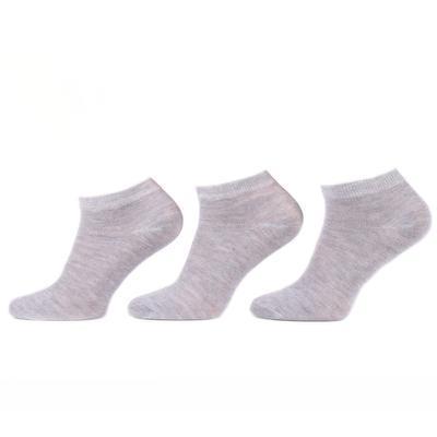 Pánské kotníkové ponožky E7b šedé