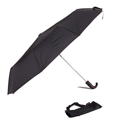 Luxusní pánský černý deštník Pietro - 1