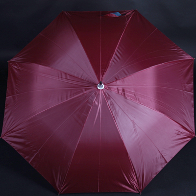 Velký holový deštník Rene v elegantní bordó - 1